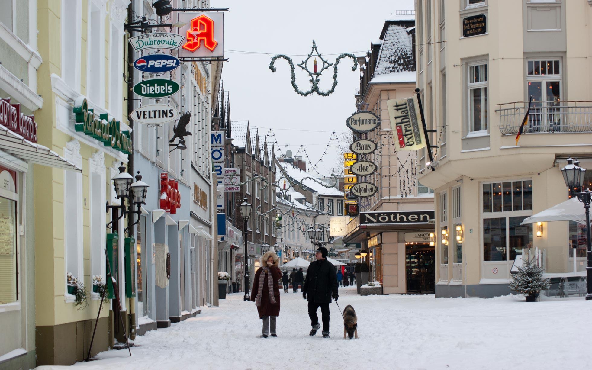 2015 Schnee in Moers